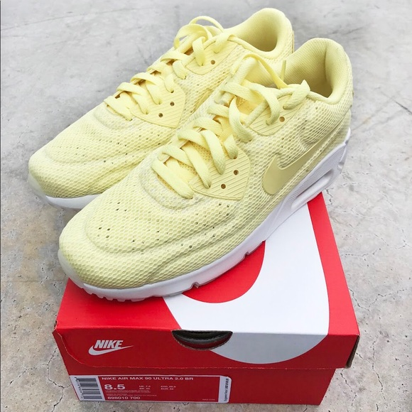 58cf12583b Nike Shoes | Air Max 90 Ultra Br Lemon Yellow | Poshmark